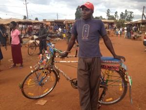 Boda Boda Driver in Sikhindu Market